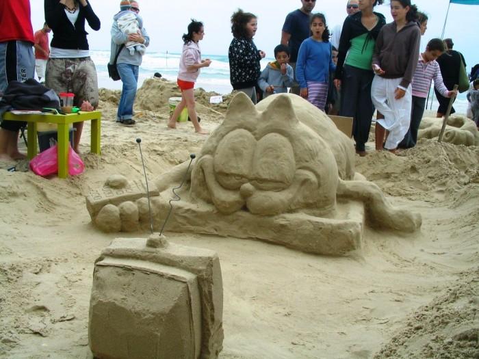 ארמונות בחול - תחרות פיסול